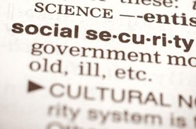 Social Security Text Image