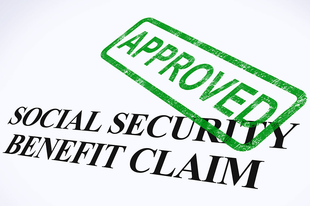 approved social security benefits