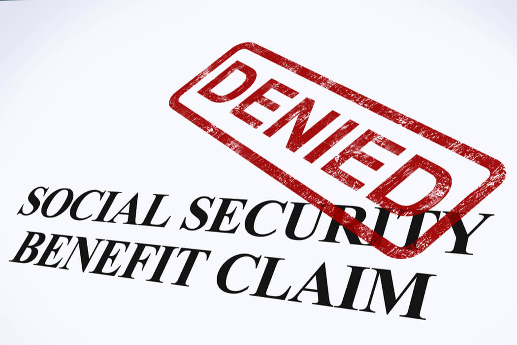 Reasons Why Social Security Disability Claim Denied