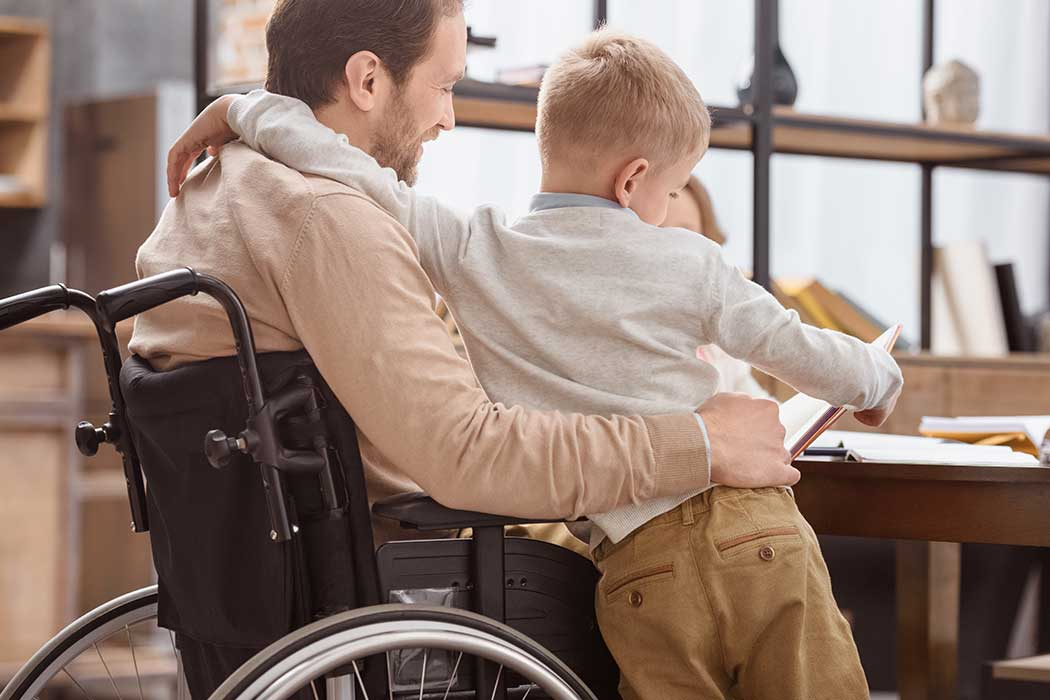 Benefits from Father's SSDI