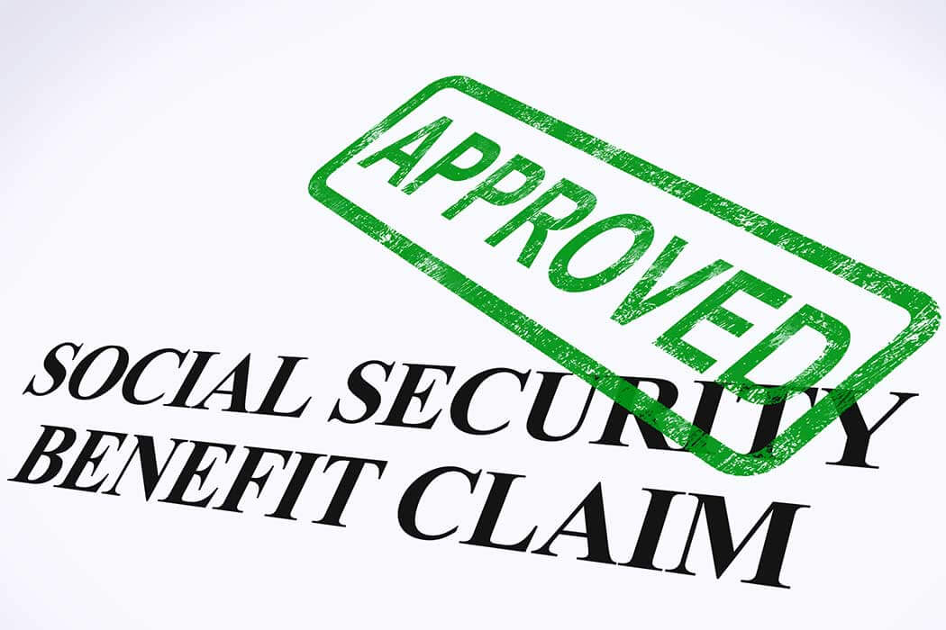 stamp of approval ssdi benefit letter