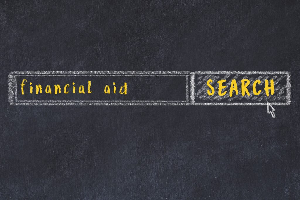 financial aid while waiting for disability